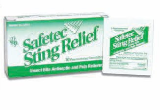 Personal Sanitation Insect Repellent Sting Relief Pak
